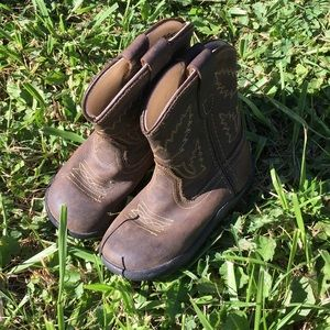 Old West toddler boots